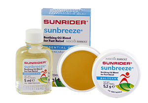 A SunBreeze® Balzsam és olaj