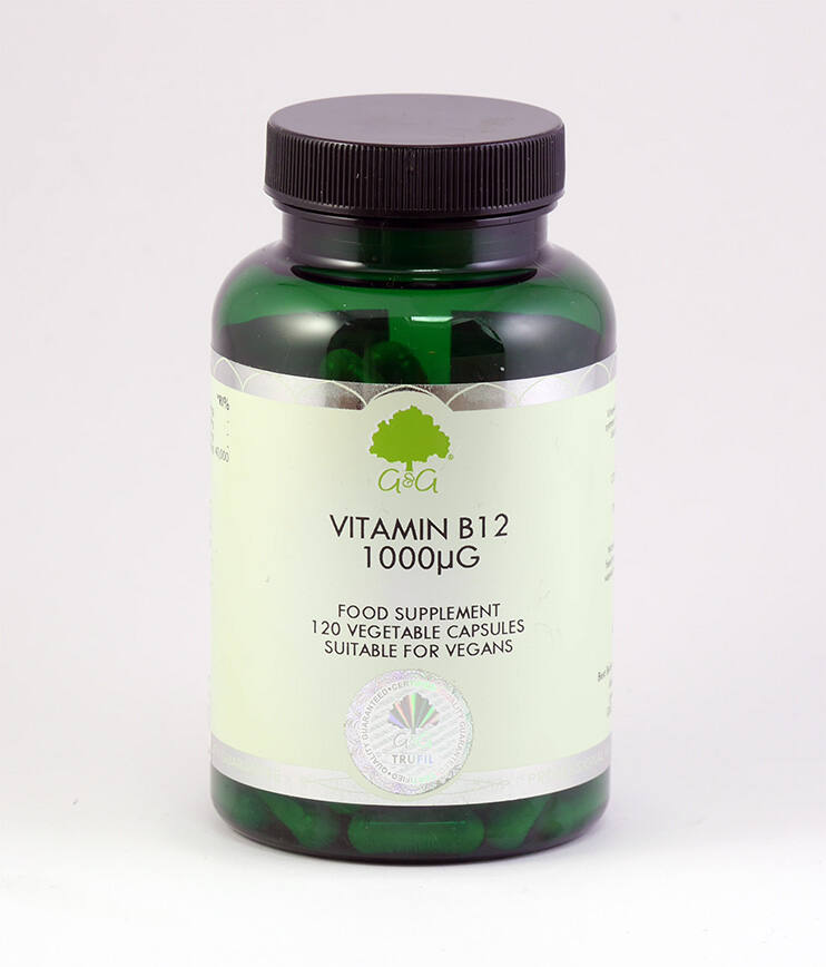 B12-vitamin 1000mcg 120 kapszula (G&G)