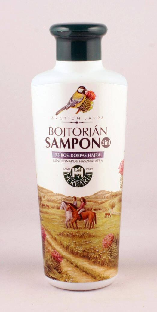 Bojtorján sampon 2in1 kupakos 250 ml