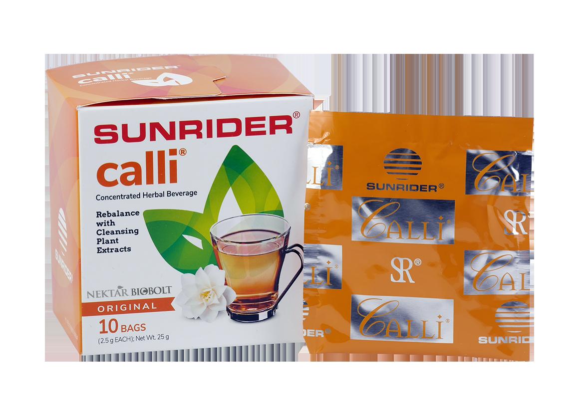 Calli tea 10 tasak natúr