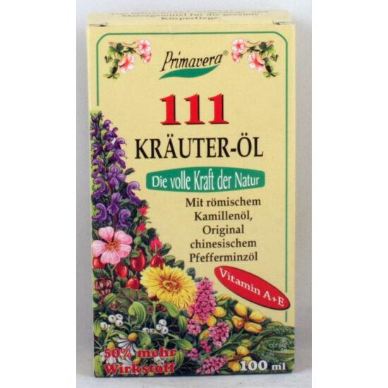 111 krauter-öl gyógynövényes olaj