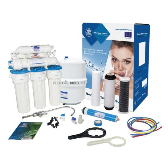 Aquafilter RP651 nyomásfokozóval ellátott ozmózisos víztisztító készülék