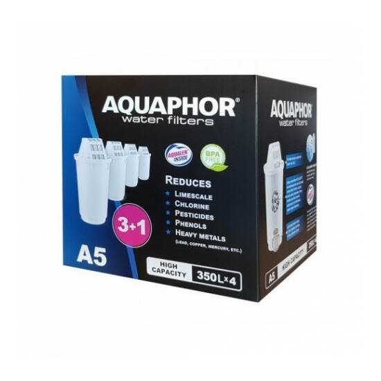 Aquaphor a5 kancsó szűrőbetét (350l) 4db-os kiszerelés