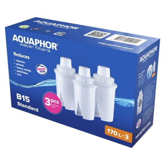 Aquaphor b15  (b100-15) classic szűrőbetét (170l) 3db-os kiszerelés