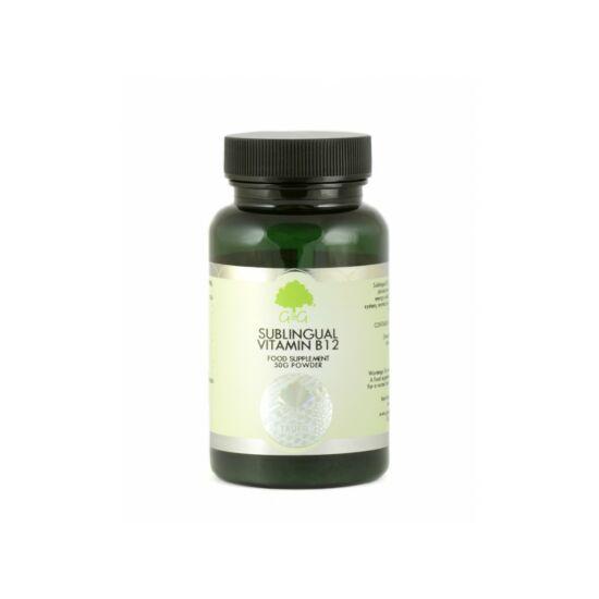 B12-vitamin nyelv alatt felszívódó por 50g (G&G)