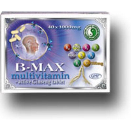 Dr.Chen B - Max multivitamin és aktív ginseng tabletta