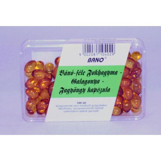 Bánó fokhagyma-galagonya-fagyöngy kapszula