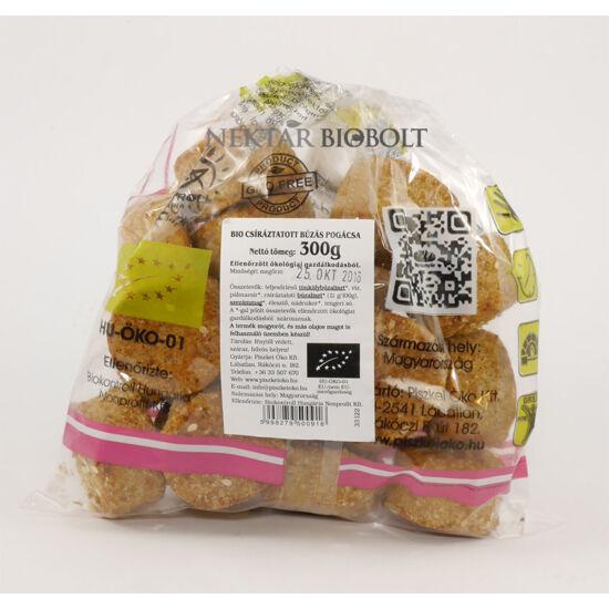 Bio csíráztatott búzás pogácsa 300 g