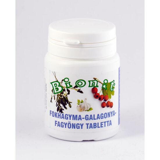 Bionit fokhagyma, galagonya,fagyöngy tabletta