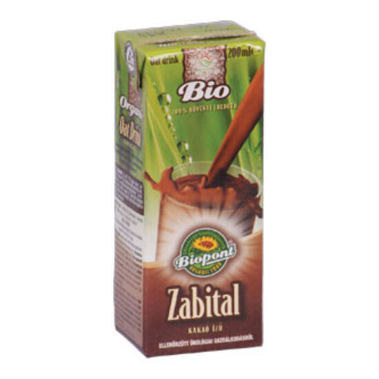 Biopont bio zabital kakaós 200 ml