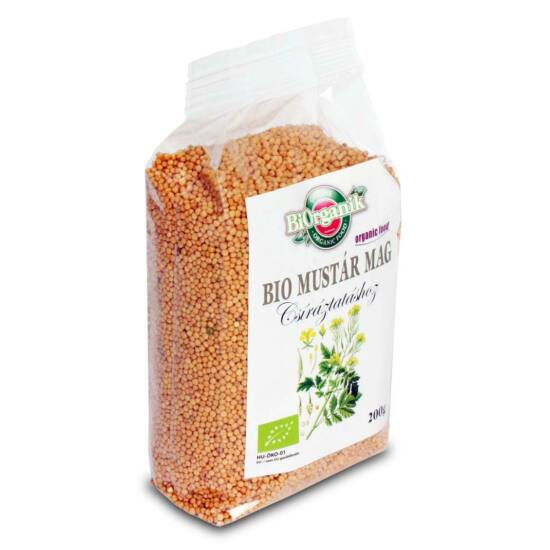 Biorganik bio mustárcsira mag 200 g