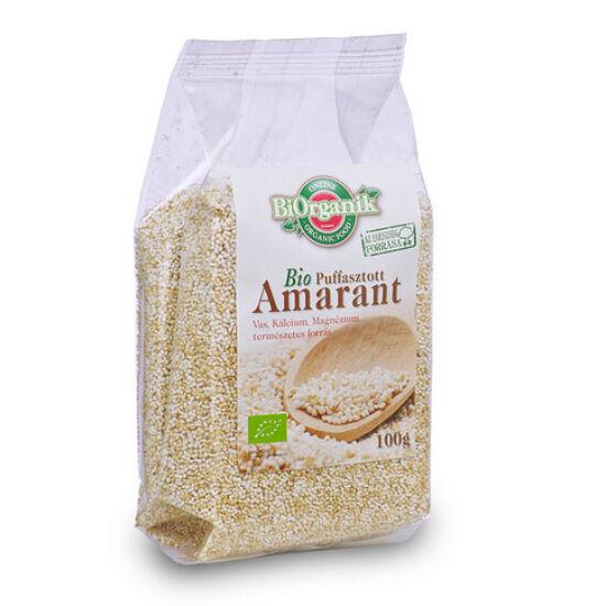 Biorganik bio pattogatott amarantmag 100 g