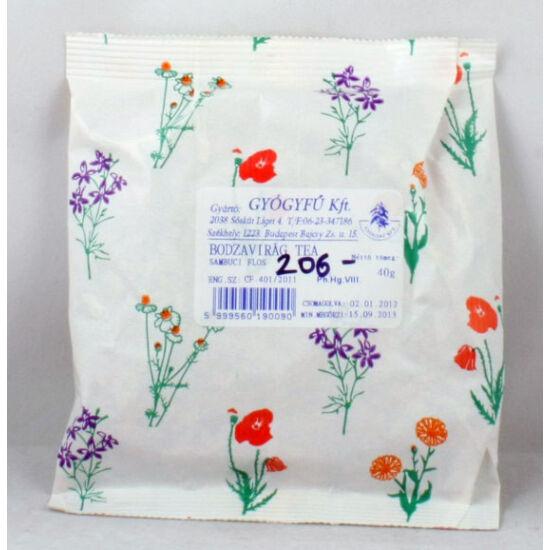 Bodzavirág tea