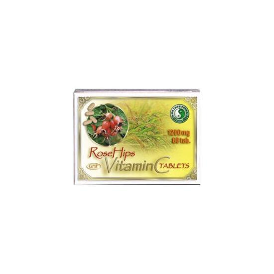 Dr.Chen C - vitamin tabletta csipkebogyó kivonattal 80db