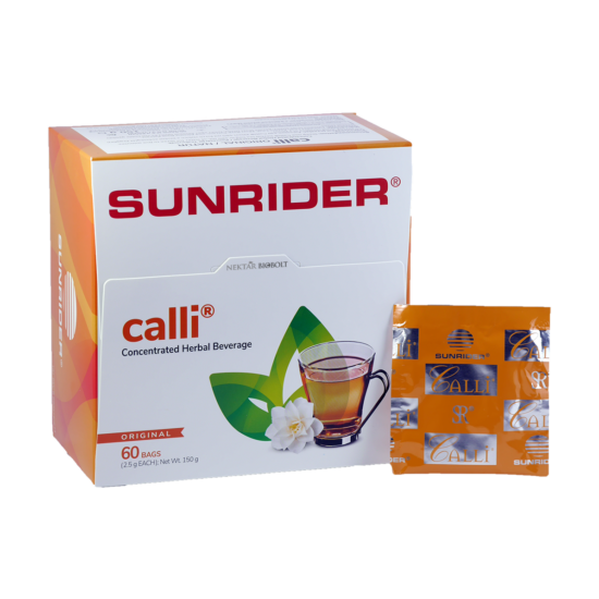 Calli tea natúr 60 tasakos