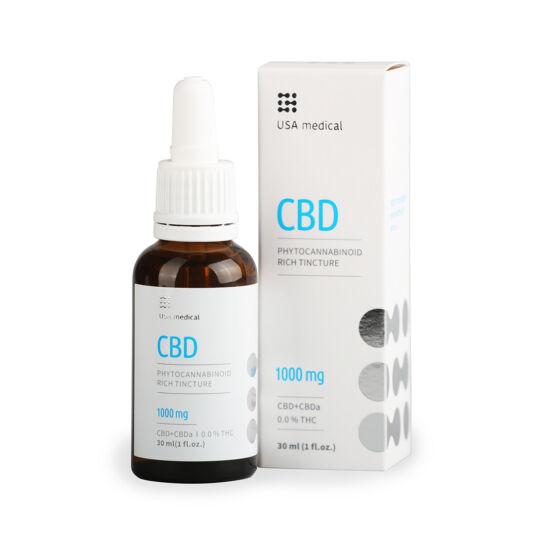 CBD olaj 30ml 1000mg - CBD+CBDa / 0.0% THC