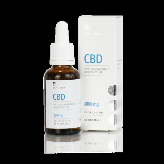 CBD olaj 30ml 3000mg - CBD+CBDa / 0.0% THC