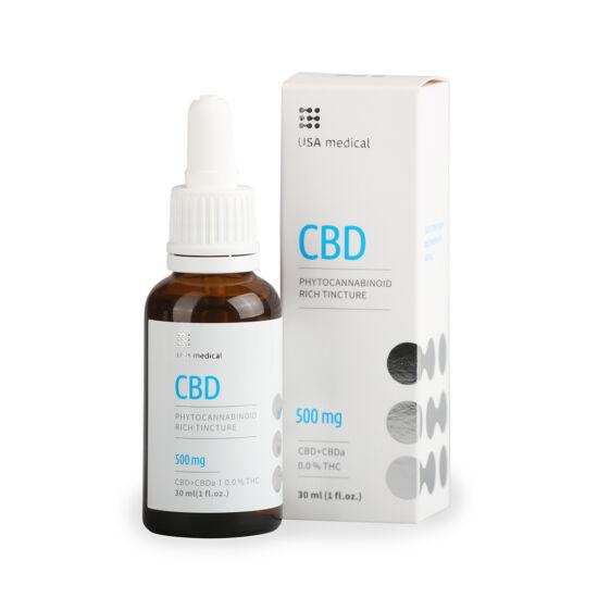 CBD olaj 30ml 500mg - CBD+CBDa / 0.0% THC