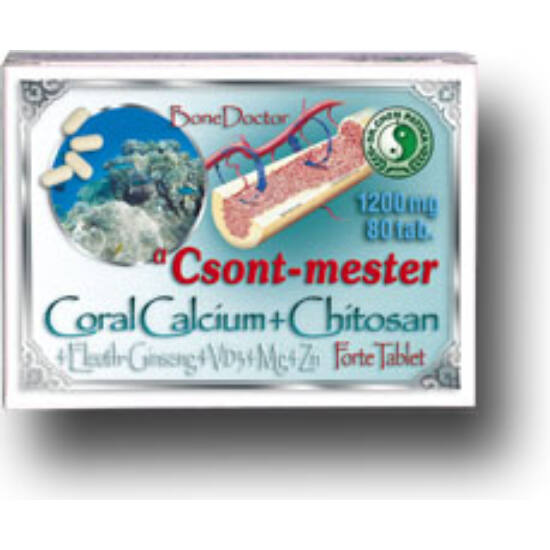 Dr.Chen Coral calcium forte - csont mester tabletta