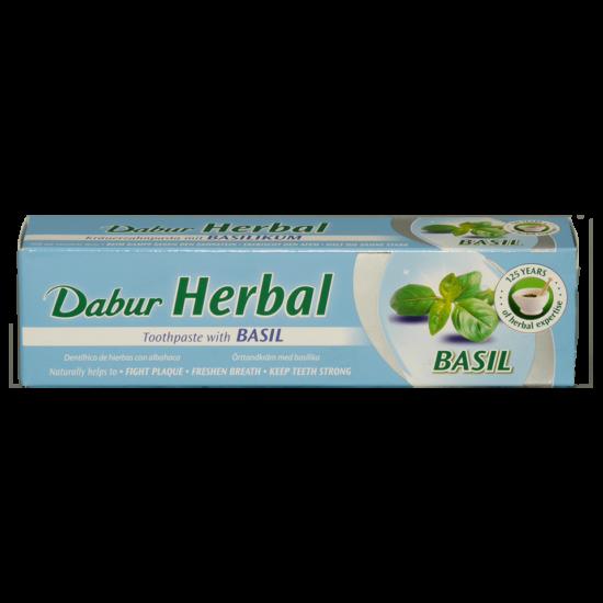 Dabur Herbal fogkrém basil /kék/