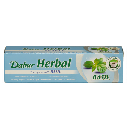 Dabur Herbal fogkrém basil /kék/