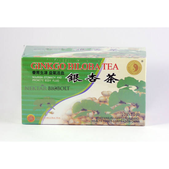 Dr.Chen instant ginkgo biloba tea tasakos