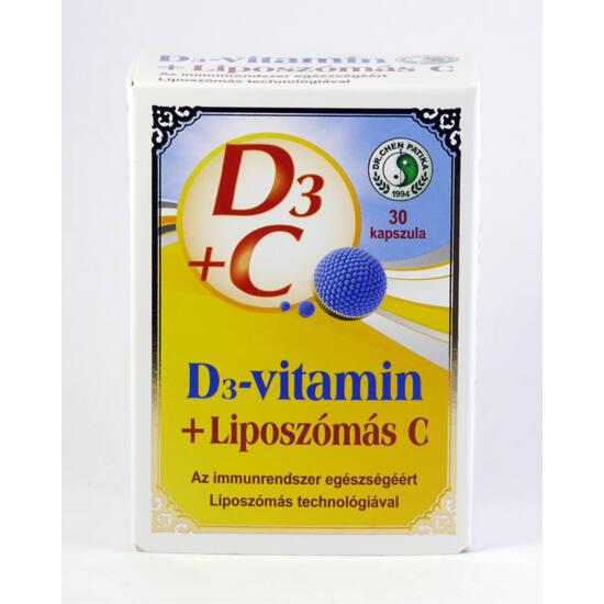 Dr.chen d3+liposzómás c-vitamin kapszula