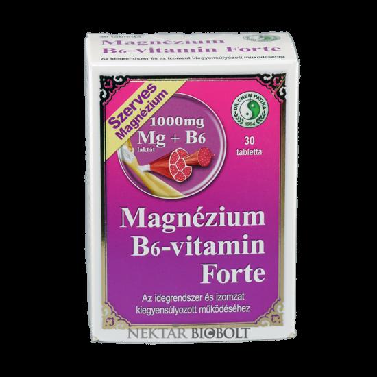 Dr.Chen magnézium B6-vitamin forte tabletta