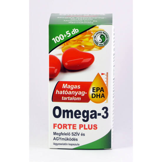 Dr.Chen Omega-3 forte plus kapszula