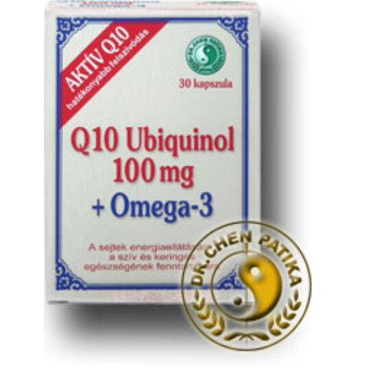 Dr.Chen Q 10 ubiquinol 100mg omega-3 kapszula