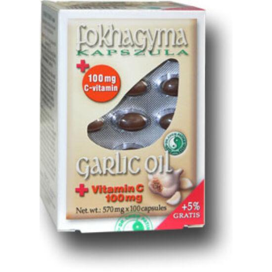 Dr.Chen Fokhagymaolaj kapszula c - vitaminnal