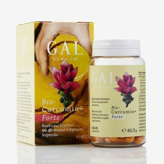 GAL bio Curcumin+ forte kapszula 60 db