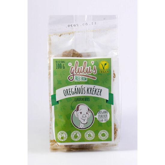 Glulu freefrom oregánós kréker cukormentes, gluténmentes