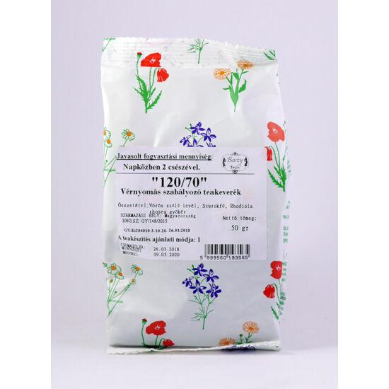 Gyógyfű 120/70 Vérnyomás csökkentő tea