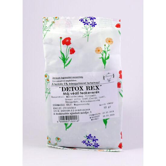 Gyógyfű Detox Rex májvédő teakeverék