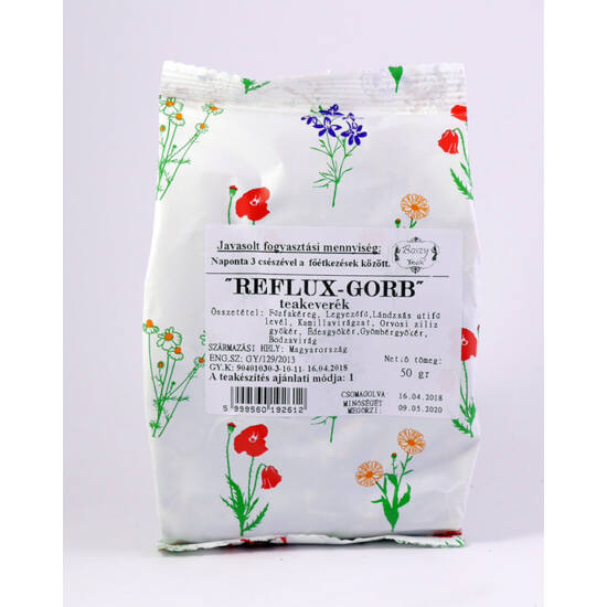 Gyógyfű Reflux-Gorb tea 50 g