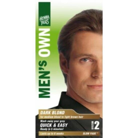 Hennaplus férfi hajfesték sötétszőke