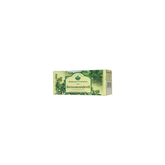 Herbária borsosmentalevél tea filteres