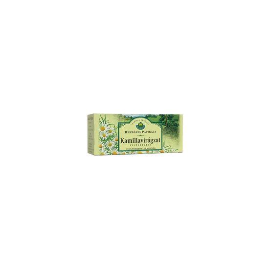 Herbária kamilla tea filteres