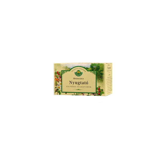 Herbária nyugtató teakeverék filteres