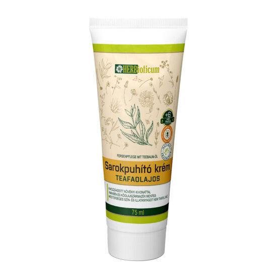 HERBioticum Sarokpuhító krém teafaolajos tubus 75 ml