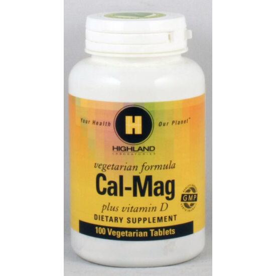 Highland cal-mag plus d vitamin 100 db