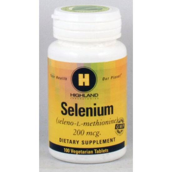 Highland Selenium 200 mcg.