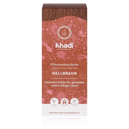 Khadi Növényi Hajfesték - Világosbarna