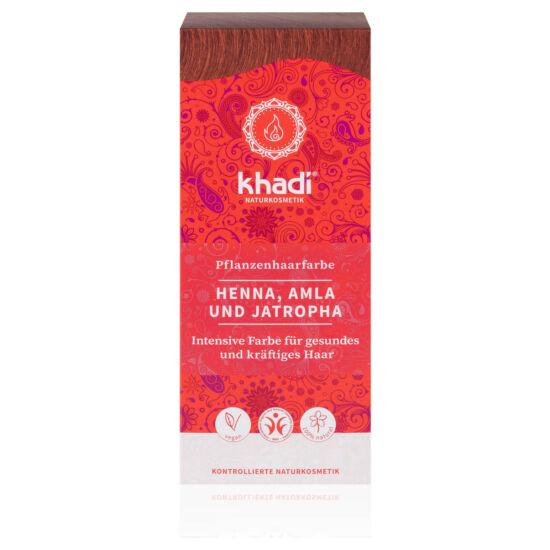Khadi hajfesték por vörös henna-amla