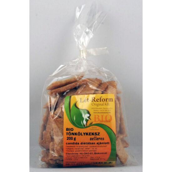 Lét-Reform bio tönköly keksz - medvehagymás