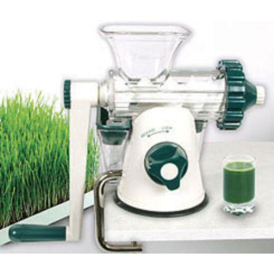 Lexen Healthy Juicer - kézi búzafűprés  FEHÉR-ZÖLD