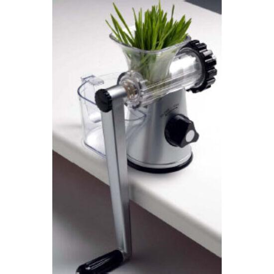 Lexen Healthy juicer - kézi búzafűprés EZÜST-FEKETE