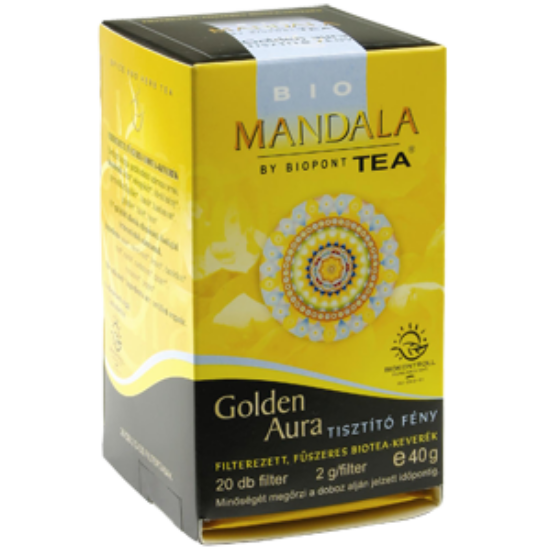 Mandala Golden Aura tea