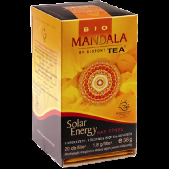 Mandala Solar Energy tea
